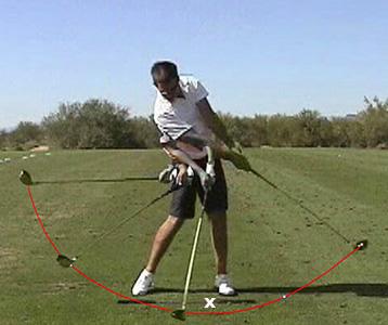 swing the clubhead golf instruction
