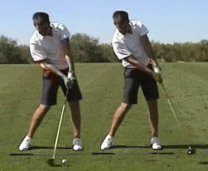 My Daily Swing — The modern, total body golf swing : Impact