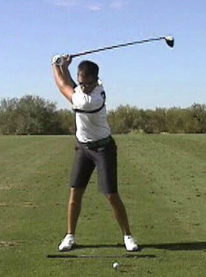 The Backswing and Downswing Hip Pivot Movements