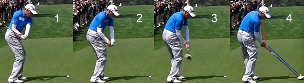 What changes did Chris Como make to Tiger Woods' golf swing
