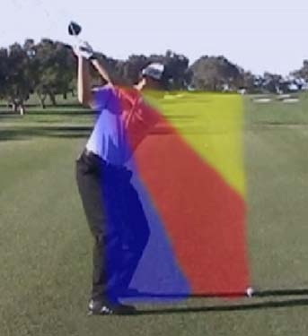 how to get right shoulder down in golf swing