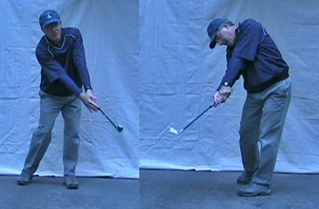 HittingEndFollowthrough - Model Golf Swing Video