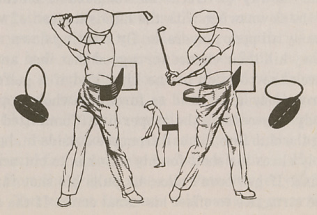 Hogan's downswing hip shift