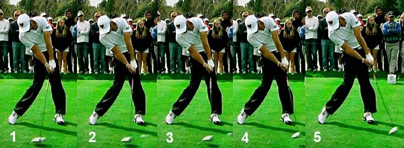 Malaska Golf // How Dustin Johnson's Swing Works // Strong