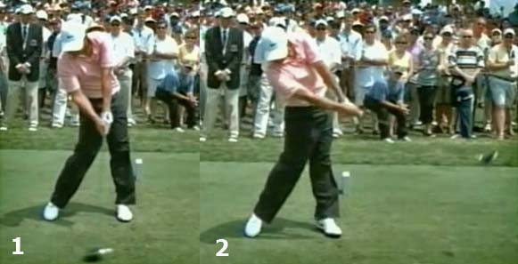 KimHorizontalHingeFront - Model Golf Swing Video