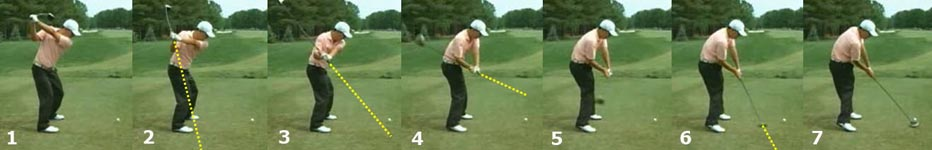 KimOnPlane - Model Golf Swing Video