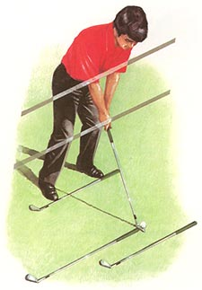 My Daily Swing — The modern, total body golf swing : Address
