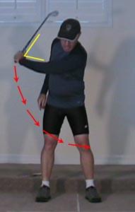 LeftArmPull - Model Golf Swing Video