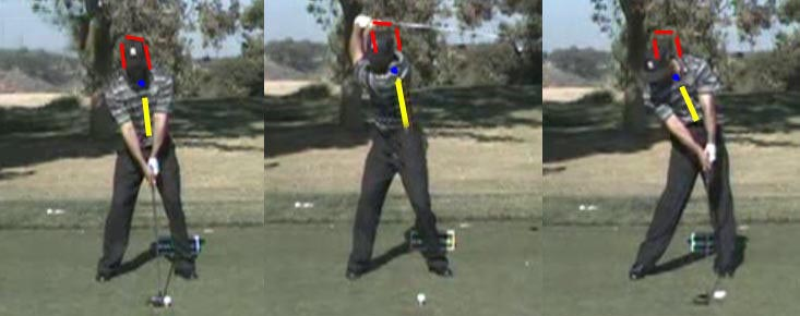 tiger woods swinging. Tiger Woods driver swing